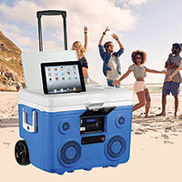 Koolmax Bluetooth Cooler - Blue