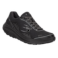Gravity Defyer Men's Black Mighty Walking Shoes