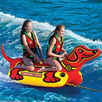 WOW Watersports Weiner Dog 2 Towable Tube