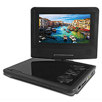 "Audiobox PD-9TV Portable 9"" DVD Player TV Combo"