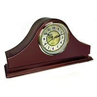PS Products Mantel Clock with Concealment Safe