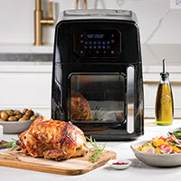 Modernhome 8 Quart Digital Air Fryer with Touch Controls