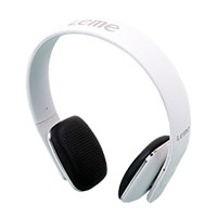 White Leme EB20A Bluetooth Headphones