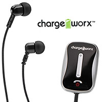 Chargeworx CX9020GR Bluetooth Headphone Adapter