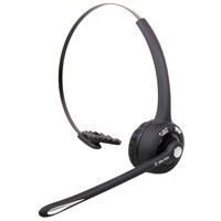 Delton DBTHEAD10X Wireless Over-Head Bluetooth Headset