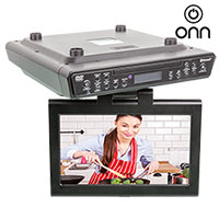 ONN 10 Inch TV/DVD Player with Bluetooth