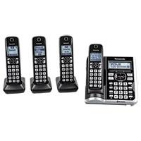 Panasonic KX-TGE674B 4-Handset Cordless Phone System
