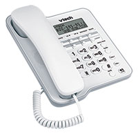 VTech CD1153 Corded Phone with Speakerphone & Caller ID