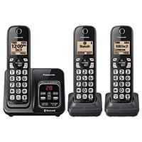 Panasonic 3 Handset Cordless Phone System