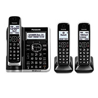 Panasonic 3-Handset System with Call Block