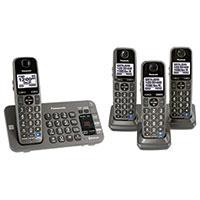 Panasonic 4- Handset Cordless Phone System