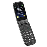 Power-To-Go MP200 Senior Emergency Flip Phone