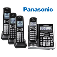 Panasonic KX-TGF574S Bluetooth Cordless Phones