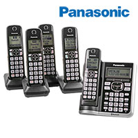 Panasonic KX-TG 785SK Cordless Phones with Voice Assist