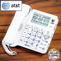 AT&T Audio Assist Corded Phone with LCD Display Caller ID