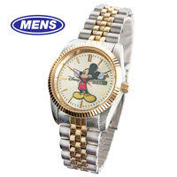 Mickey Mouse 2-Tone Watch - Mens