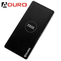 Aduro Wireless 8000 MAH Charging Power Bank