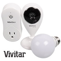 Vivitar IPC-560-OD WiFi Home Automation Starter Kit