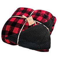 Northpoint Red Buffalo Plaid Blanket