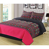 Lux Collection Marquee Quilt Set