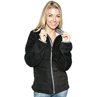 Micro Chenille Jacket - Black
