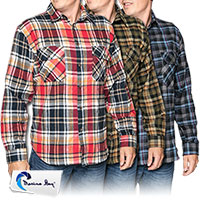 Men's Marino Bay Utilitie Flannels - 3 Pack