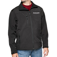 Mossi Men's Black Soft Shell Jacket