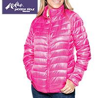 Jackson Hole Women's Pink Puffer Jacket