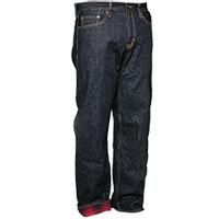 Men's Flannel Lined Straight Leg Jeans