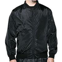 Truppa Men's Black Bomber Jacket
