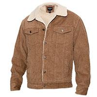 Original Deluxe Men's Khaki Sherpa Corduroy Jacket