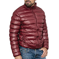 Truppa Men's Burgundy Puffer Jacket