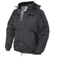 Truppa Men's Black Parka Jacket