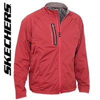 Sketchers Men's Burgundy Go-Shield Jacket