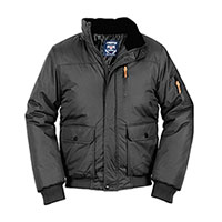 Truppa Men's Black Bomber Parka