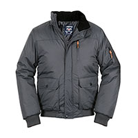 Truppa Men's Grey Bomber Parka