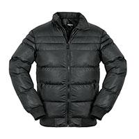 Truppa Men's Black Puffer Faux Fur Parka Jacket
