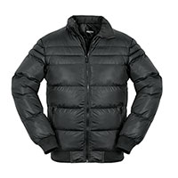 Truppa Men's Black Puffer Faux Fur Parka Jacket