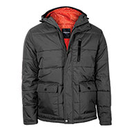 Truppa Men's Black Puffer Parka