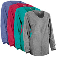 Hanes Just My Size Long Sleeve Women's Shirts