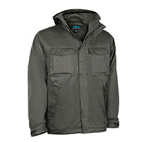 Tri-Mountain Men's Grey Freeride Jacket