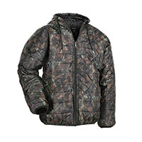 Truppa Men's Olive Camo Lightweight Puffer Jacket