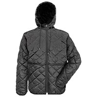 Original Deluxe Men's Black Quilted Jacket