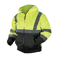 Work Ready Men's Yellow Hi-Viz Andi 3 Hoodies