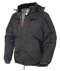 Truppa Men's Black Sport Parka