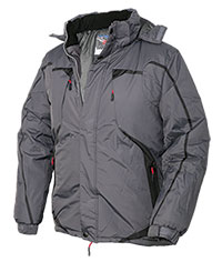 Truppa Men's Grey Sport Parka