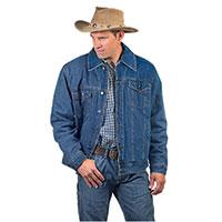 Original Deluxe Men's Sherpa Denim Jacket