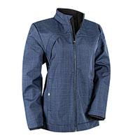 Tri-Mountain Women's Navy Soft-Shell Jacket