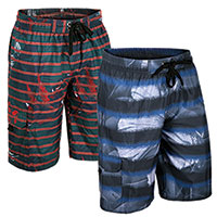 Original Deluxe Men's Blue Board Shorts