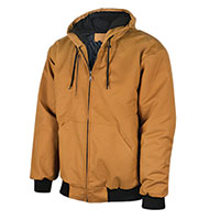 Walls Men's Duck Canvas Jacket - Dark Brown